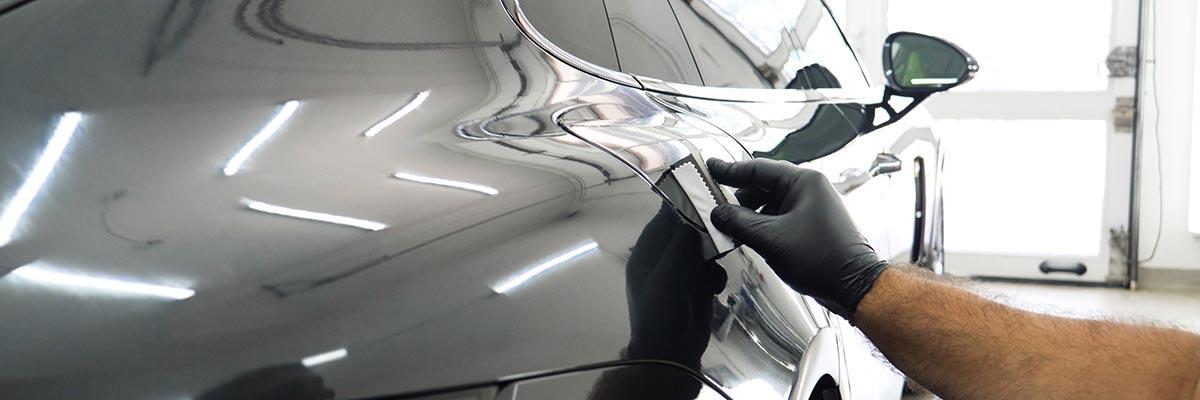 Hand lackiert Auto